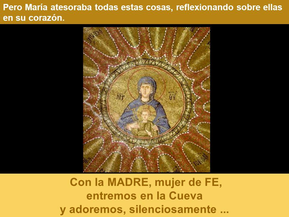 Pero María atesoraba todas estas cosas, reflexionando sobre ellas en su corazón.