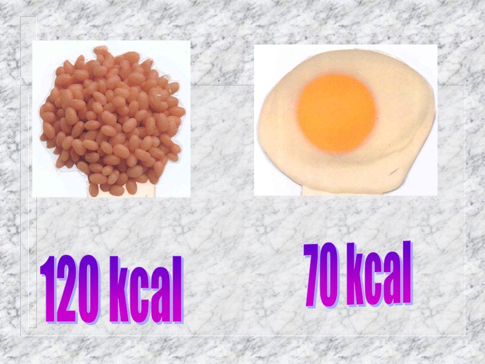 70 kcal 120 kcal