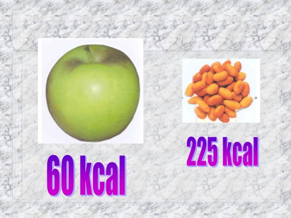 225 kcal 60 kcal