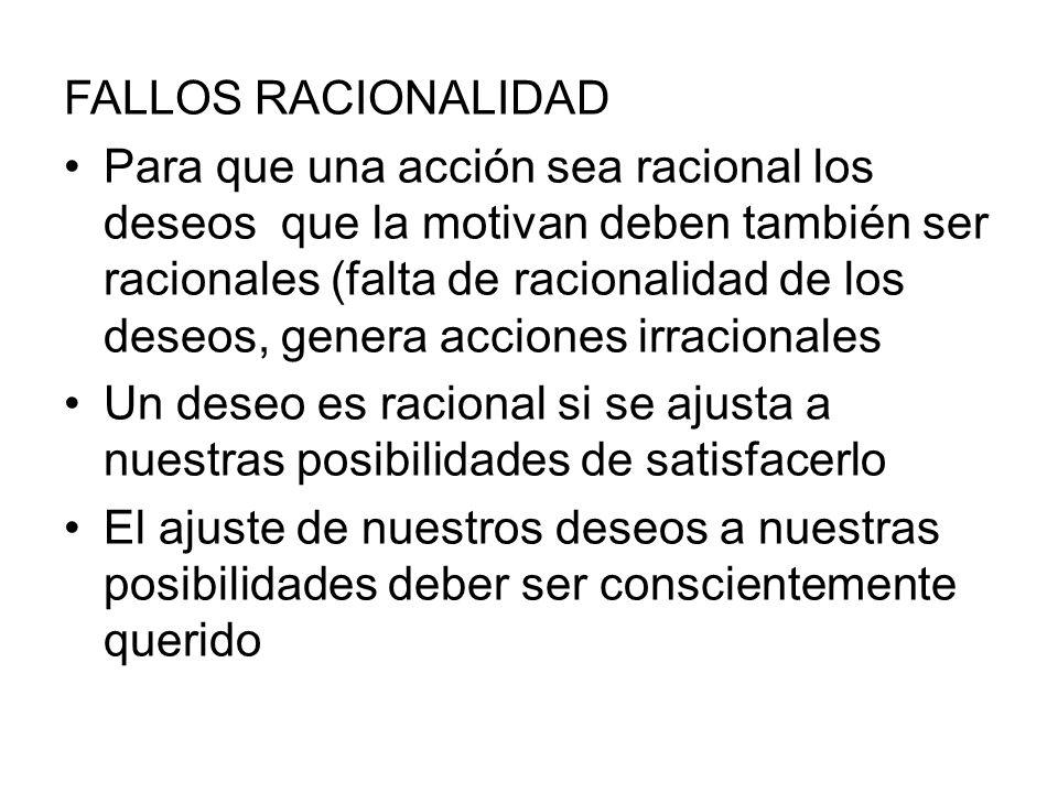 FALLOS RACIONALIDAD