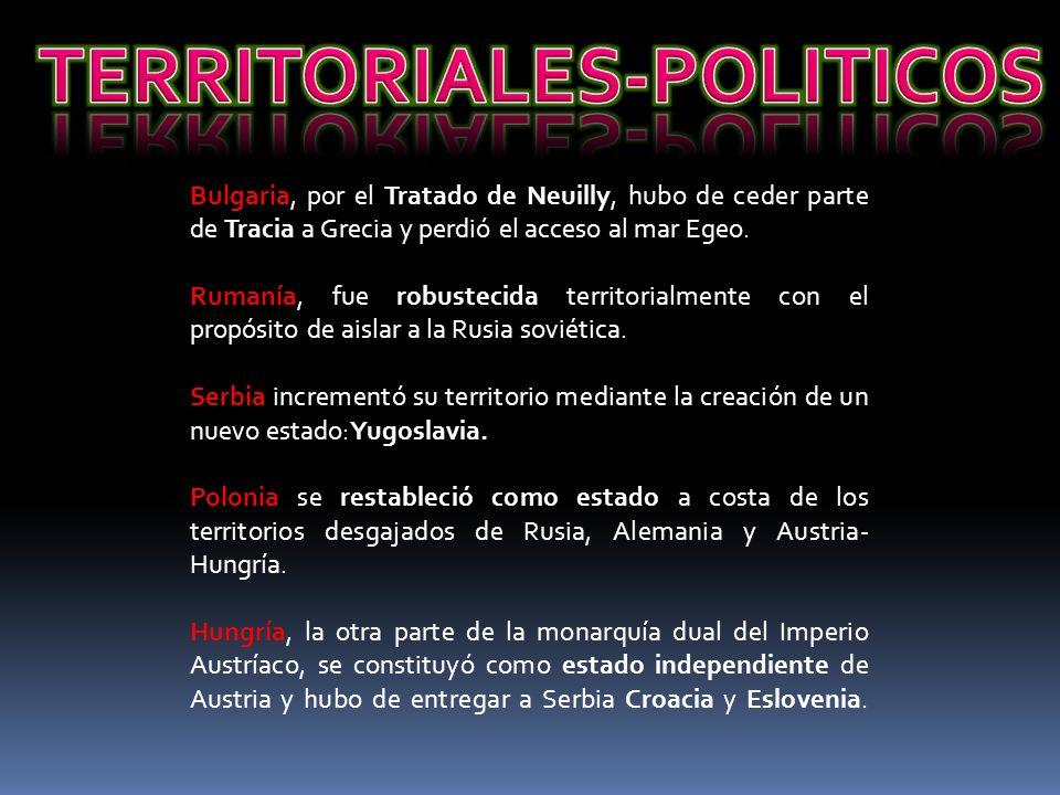 TERRITORIALES-POLITICOS