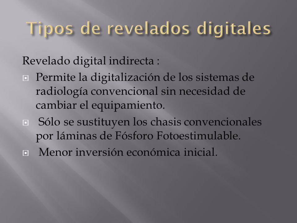Tipos de revelados digitales