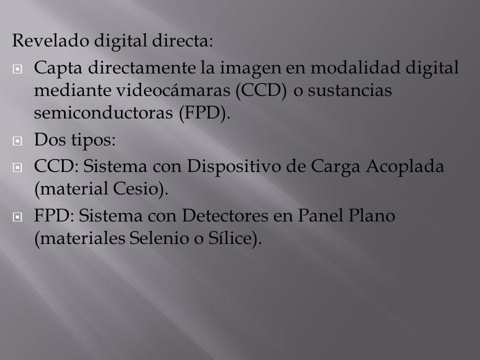 Revelado digital directa: