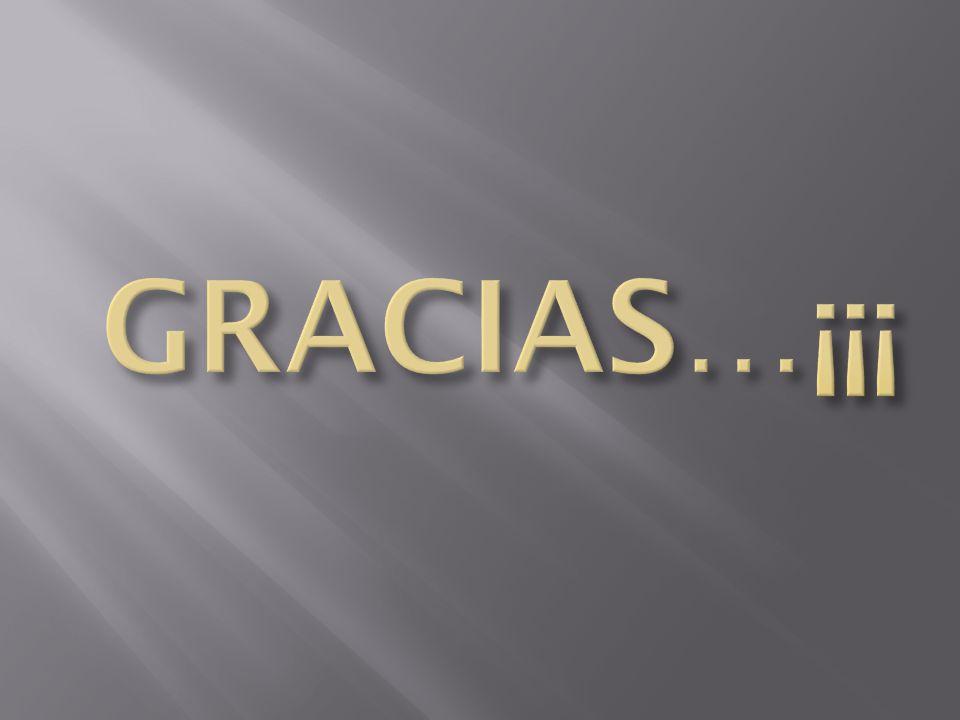 GRACIAS…¡¡¡