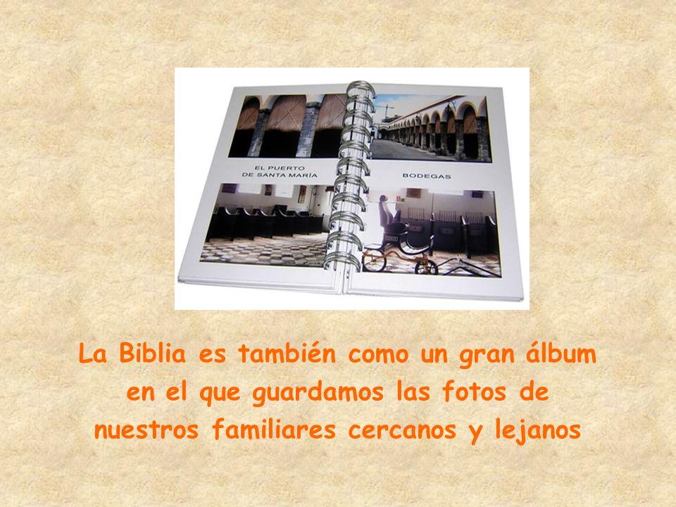 La Biblia es también como un gran álbum