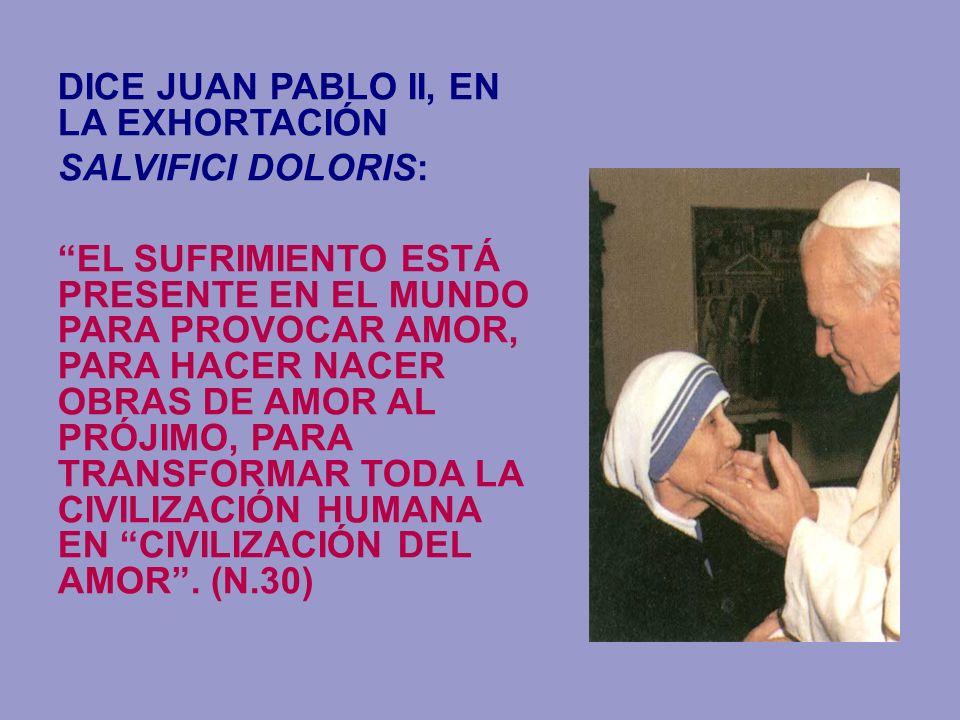 DICE JUAN PABLO II, EN LA EXHORTACIÓN