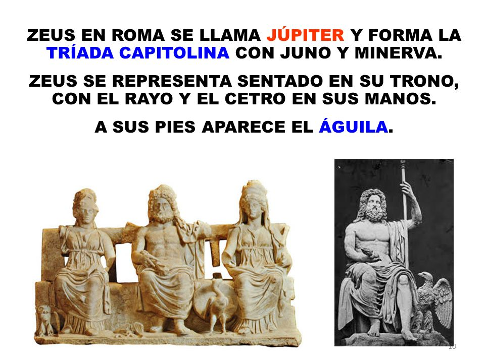 A SUS PIES APARECE EL ÁGUILA.