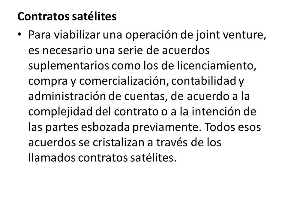 Contratos satélites