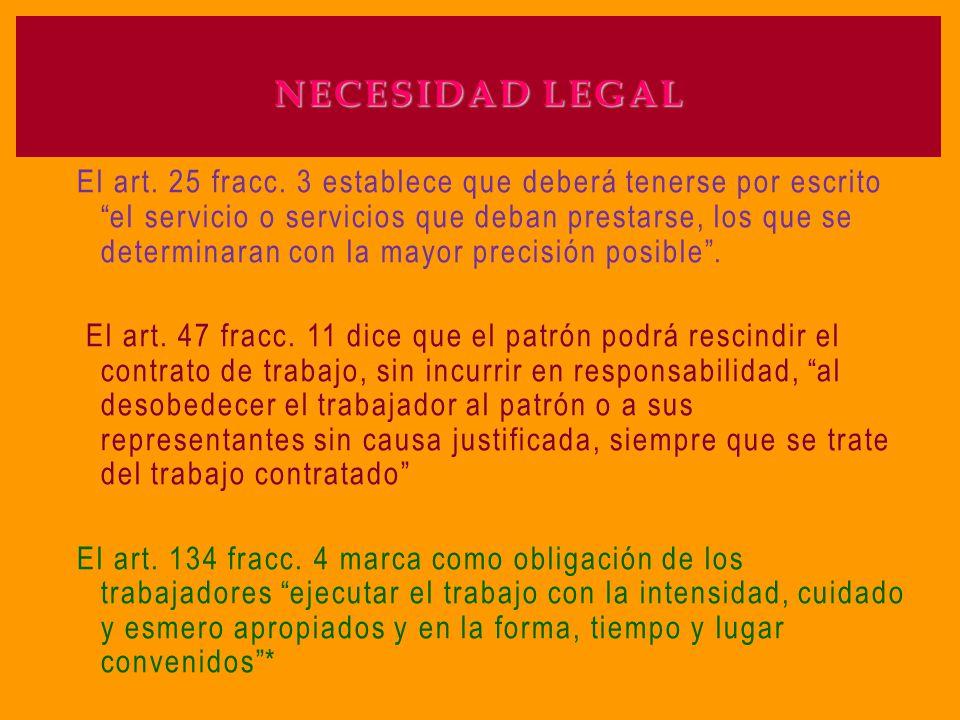 NECESIDAD LEGAL