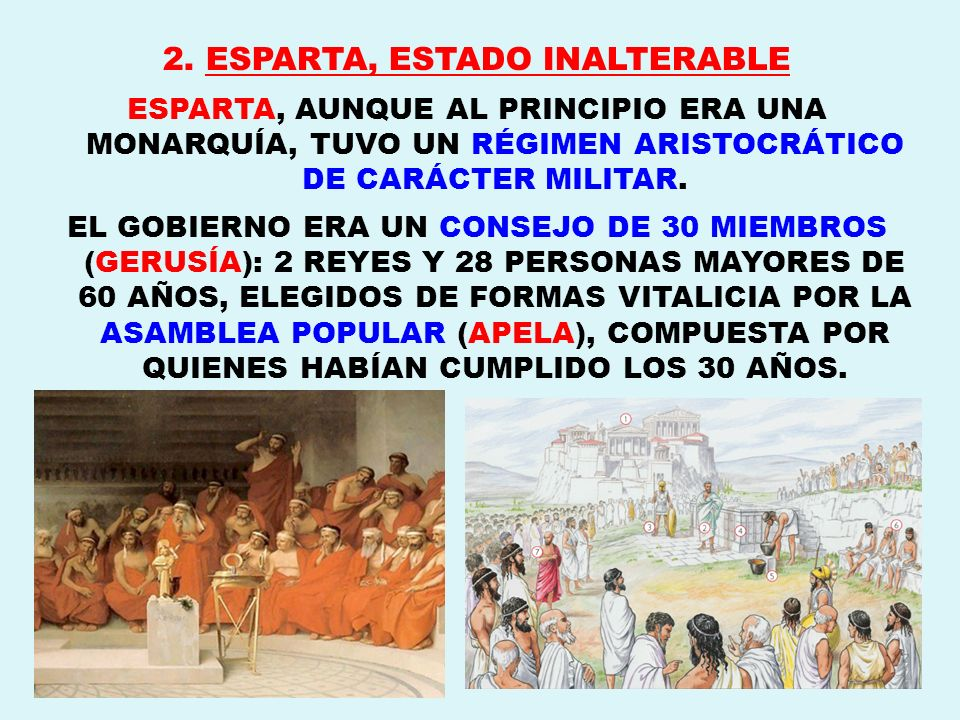 2. ESPARTA, ESTADO INALTERABLE