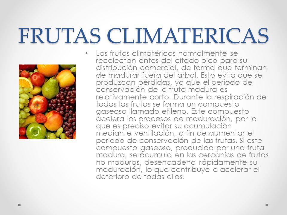 FRUTAS CLIMATERICAS