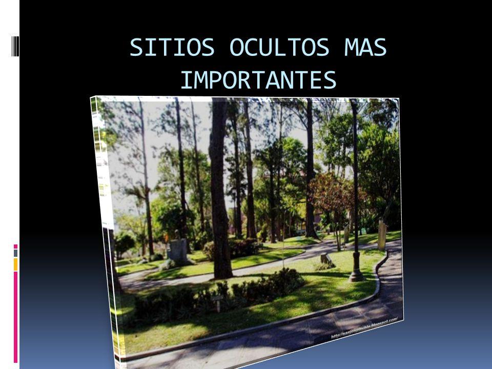 SITIOS OCULTOS MAS IMPORTANTES