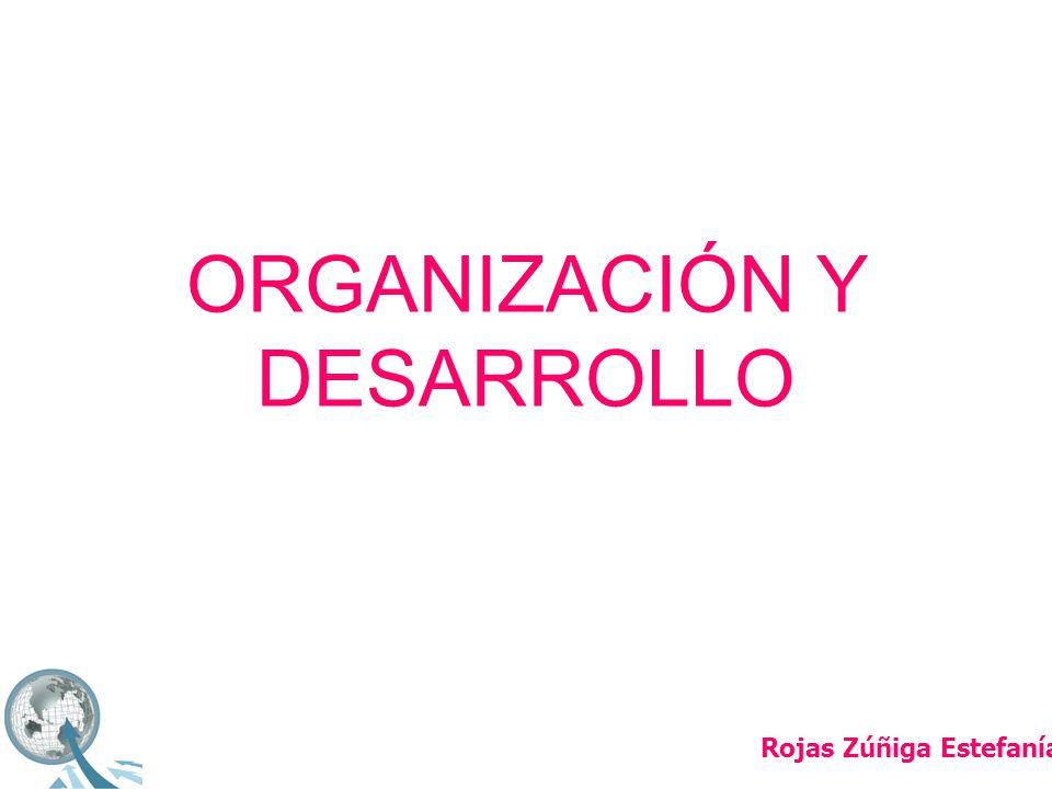 ORGANIZACIÓN Y DESARROLLO