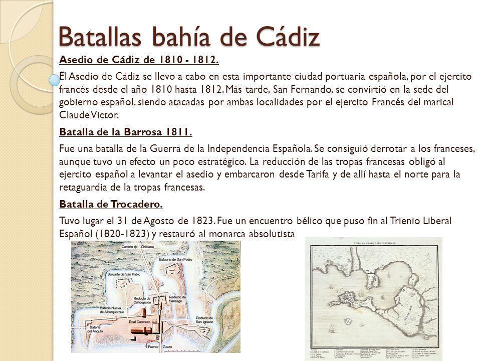 Batallas bahía de Cádiz