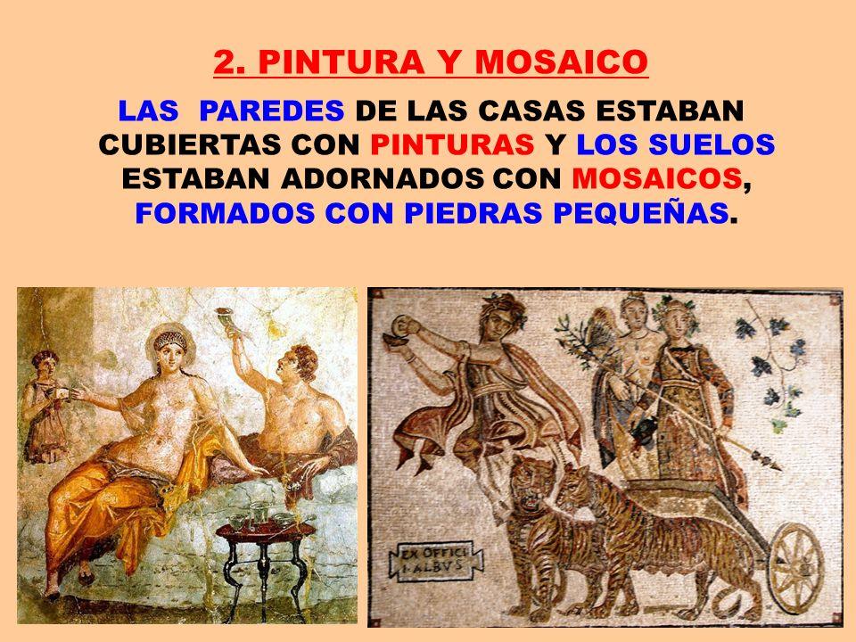 2. PINTURA Y MOSAICO