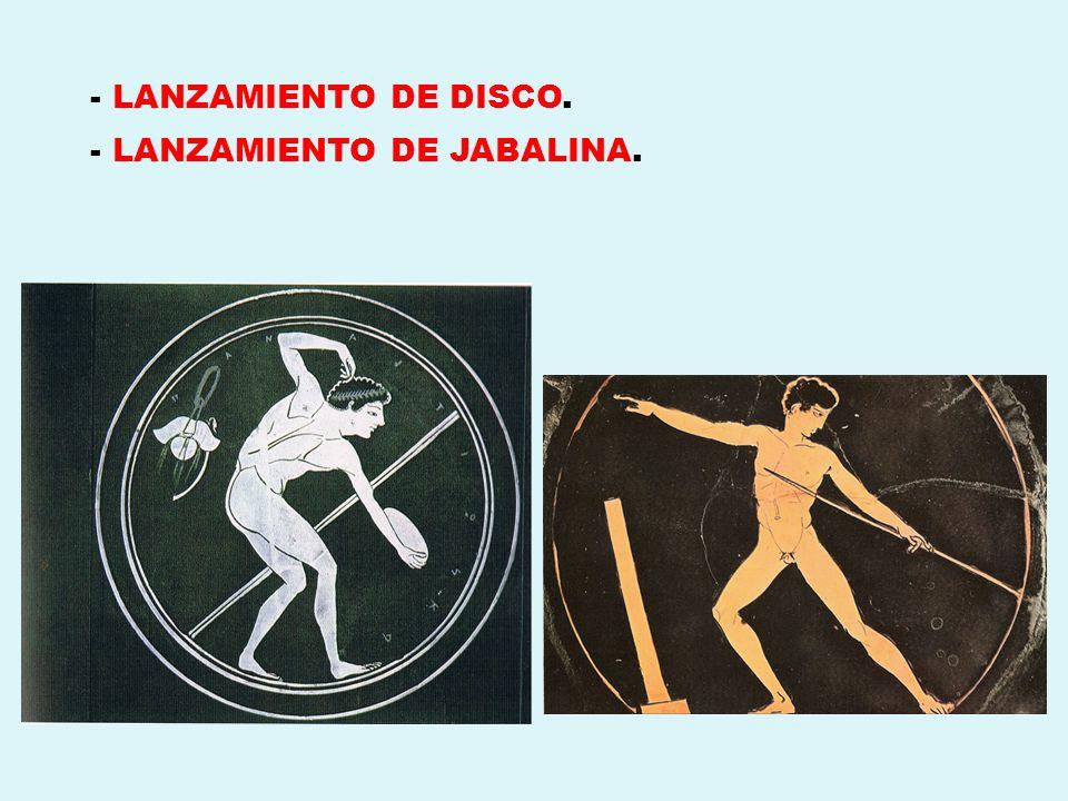 - LANZAMIENTO DE JABALINA.