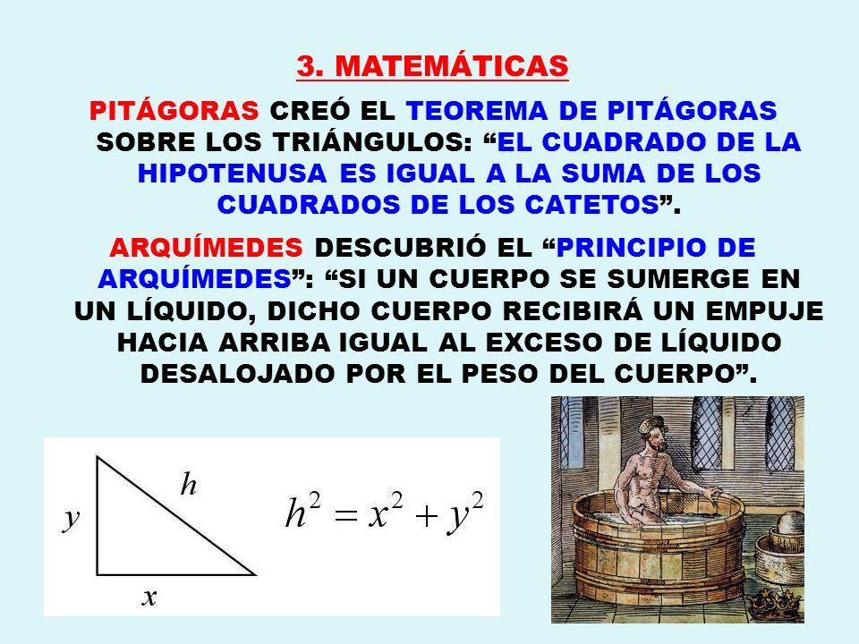 3. MATEMÁTICAS