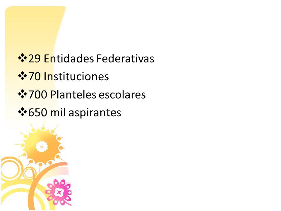 29 Entidades Federativas