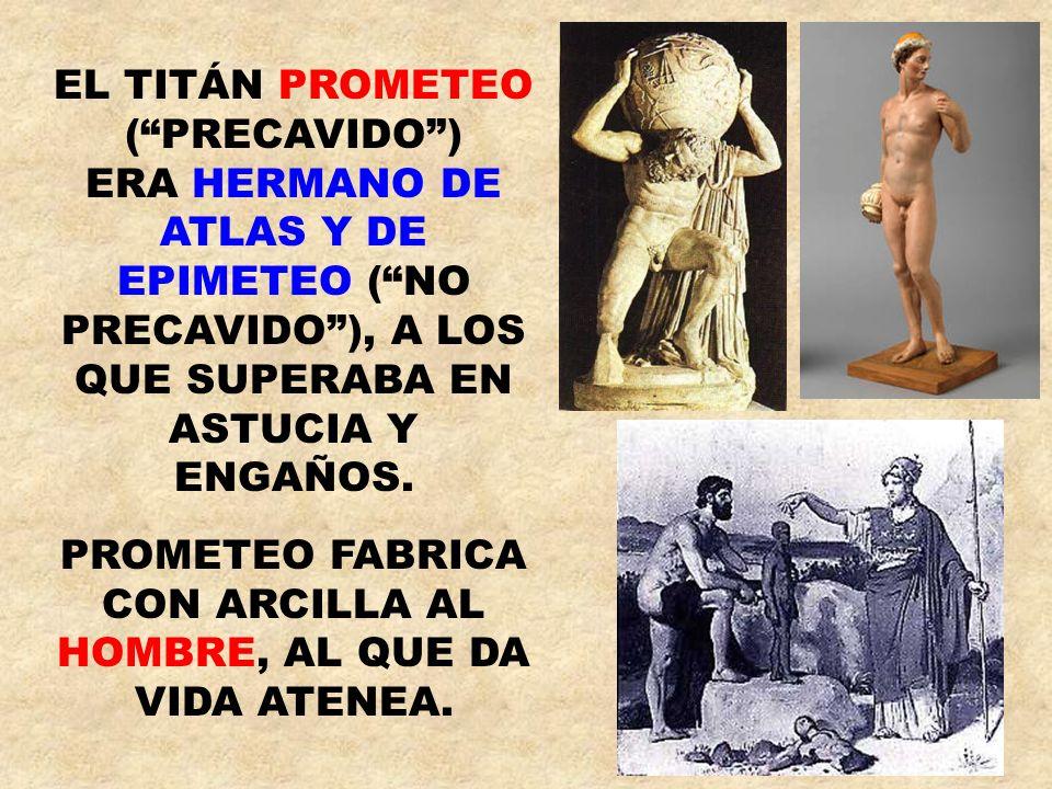 EL TITÁN PROMETEO ( PRECAVIDO )