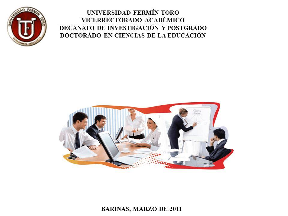 DOCTORADO EN CIENCIAS DE LA EDUCACIÓN