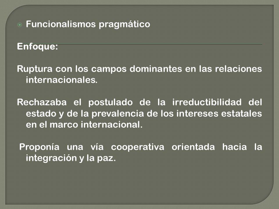 Funcionalismos pragmático