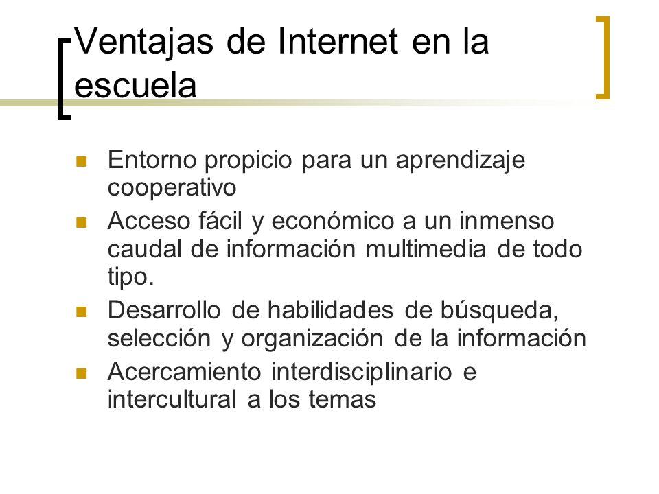 Ventajas de Internet en la escuela