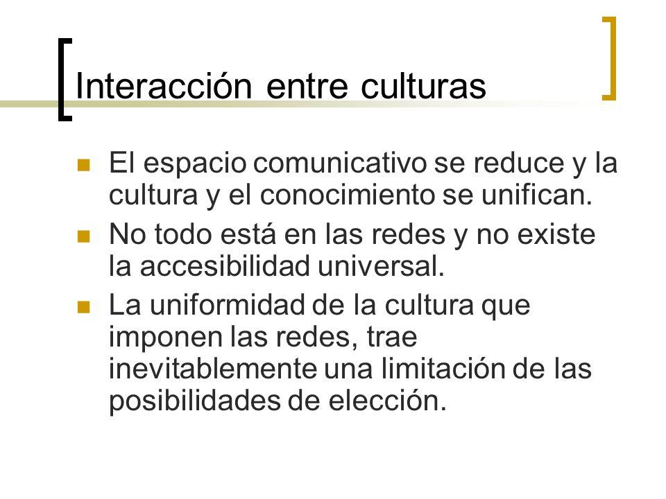 Interacción entre culturas
