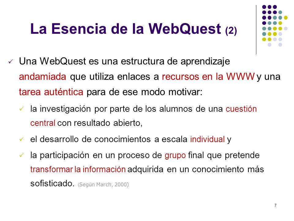 La Esencia de la WebQuest (2)