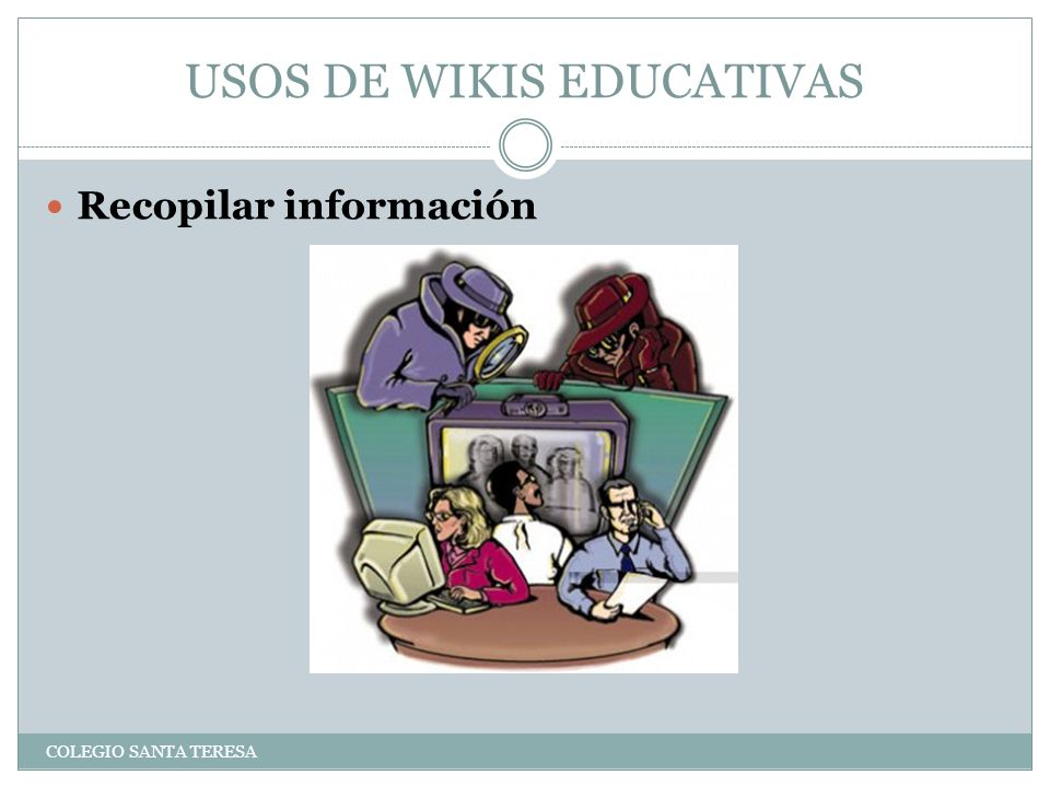 USOS DE WIKIS EDUCATIVAS