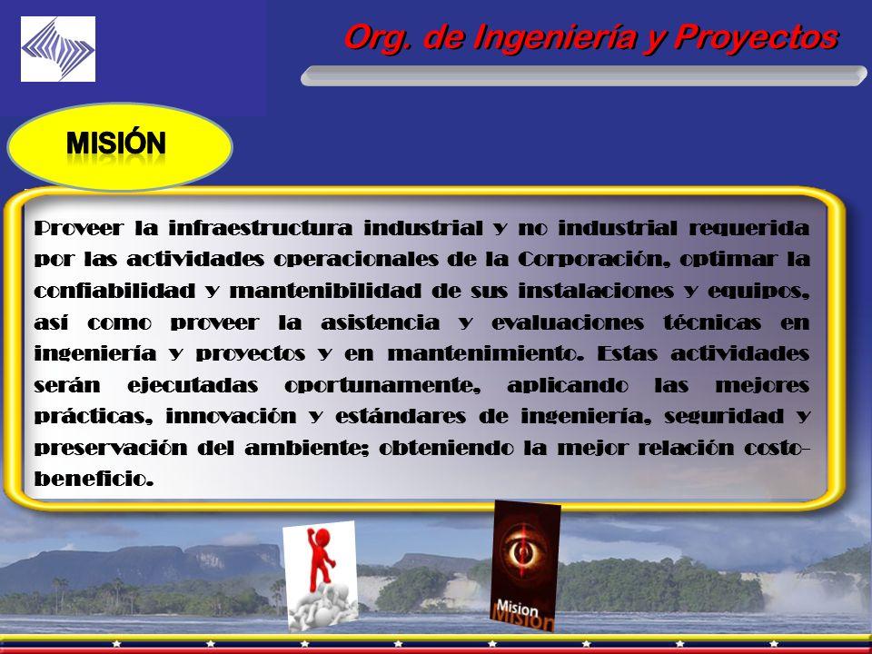 Org. de Ingeniería y Proyectos