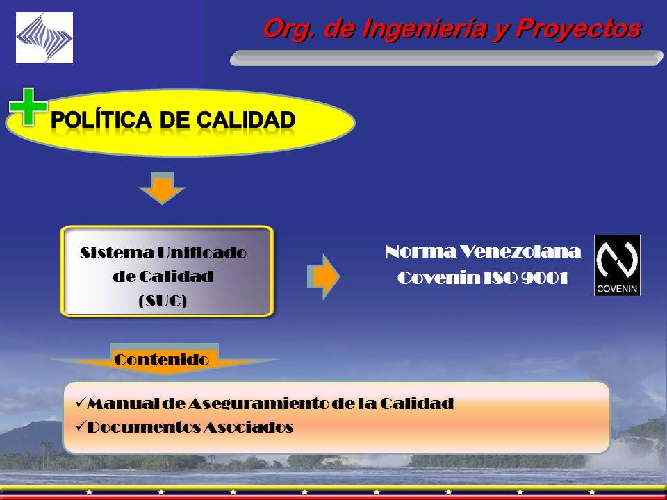 Norma Venezolana Covenin ISO 9001