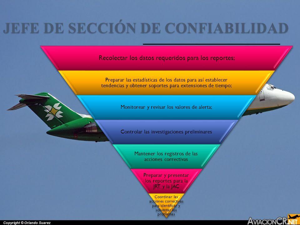 JEFE DE SECCIÓN DE CONFIABILIDAD