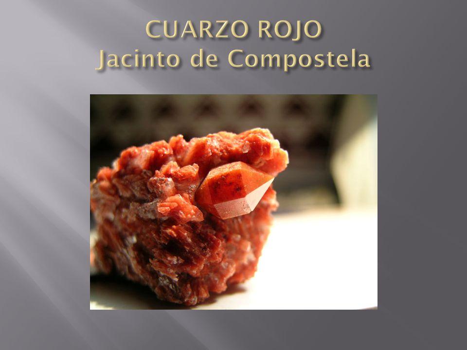 CUARZO ROJO Jacinto de Compostela