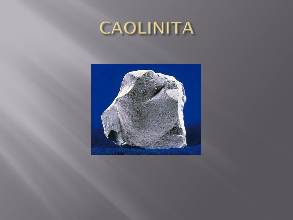 CAOLINITA