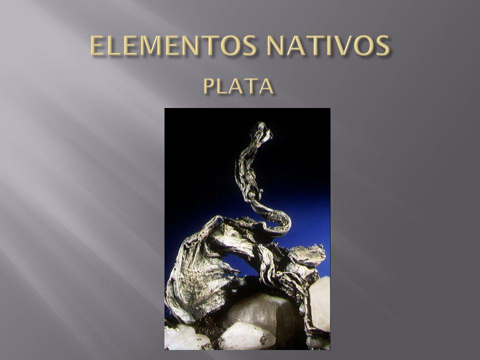 ELEMENTOS NATIVOS PLATA