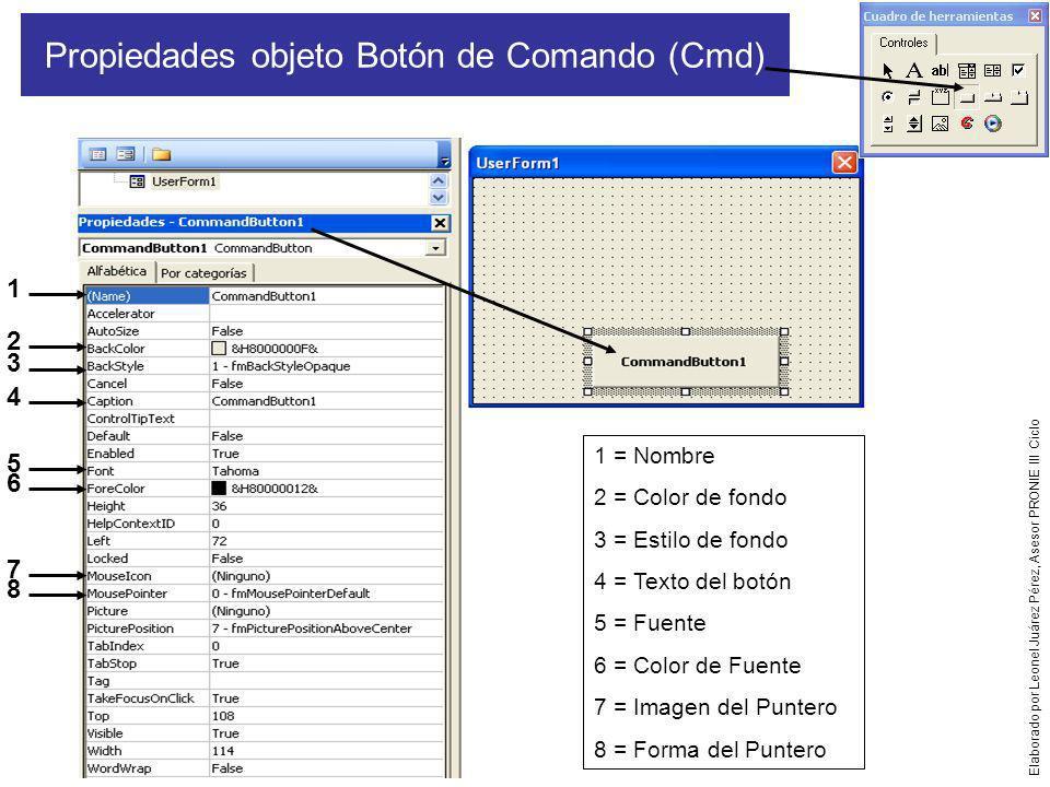 Propiedades objeto Botón de Comando (Cmd)