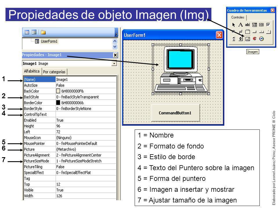 Propiedades de objeto Imagen (Img)
