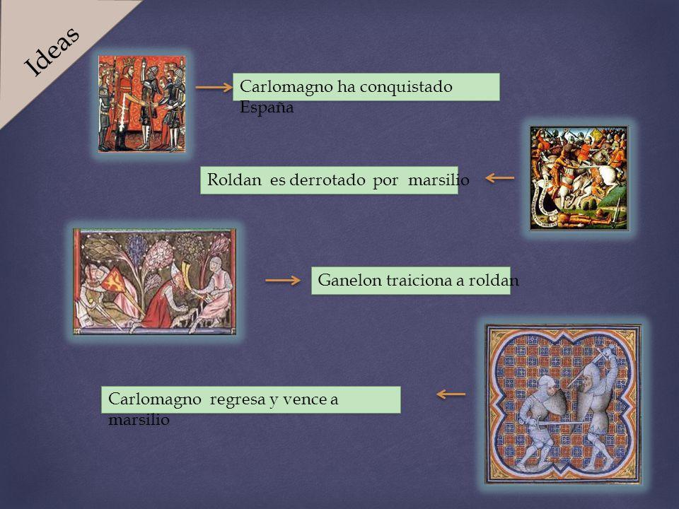 Ideas Carlomagno ha conquistado España