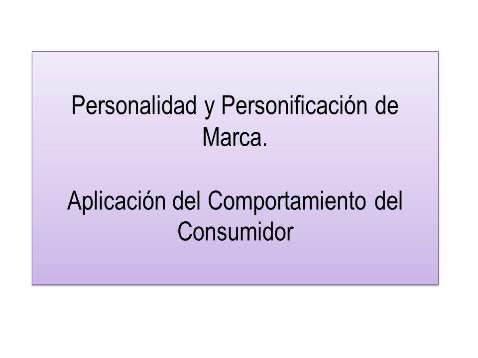 Personalidad y Personificación de Marca