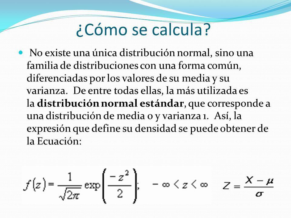 ¿Cómo se calcula