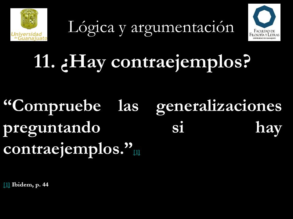 Lógica y argumentación