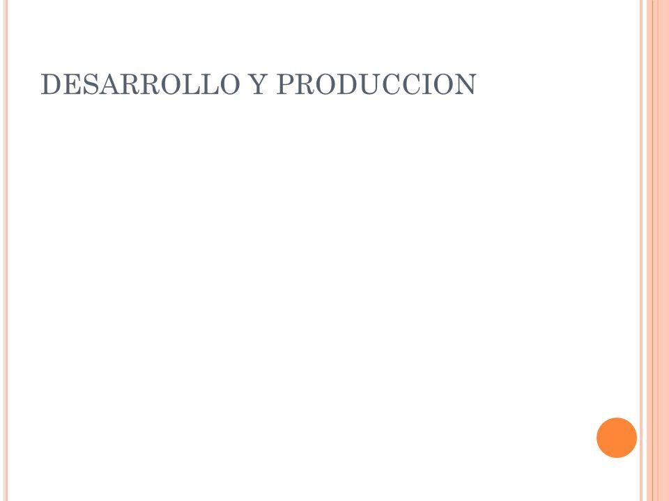 DESARROLLO Y PRODUCCION