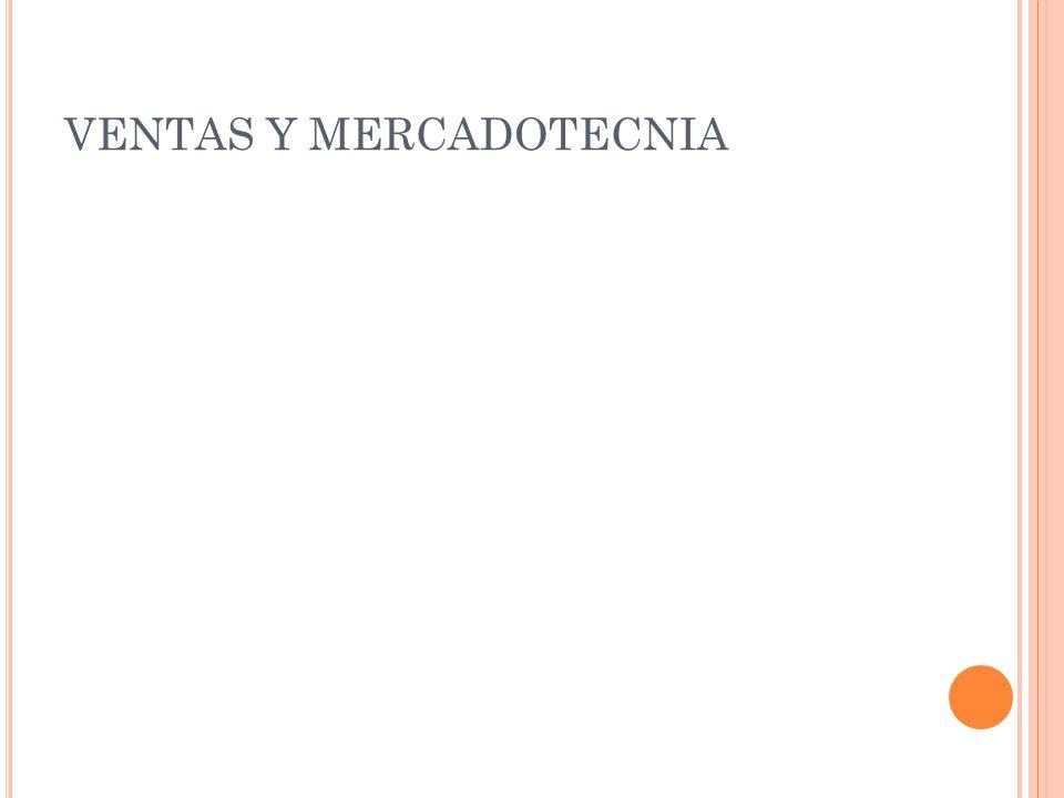 VENTAS Y MERCADOTECNIA
