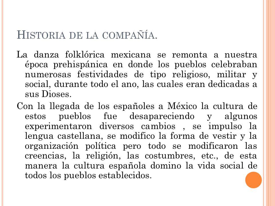 Historia de la compañía.