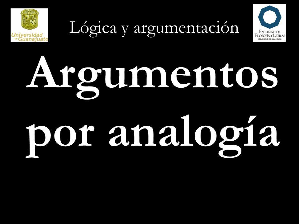Argumentos por analogía