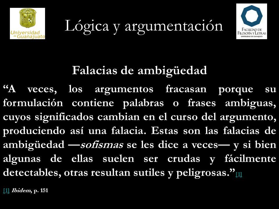 Falacias de ambigüedad