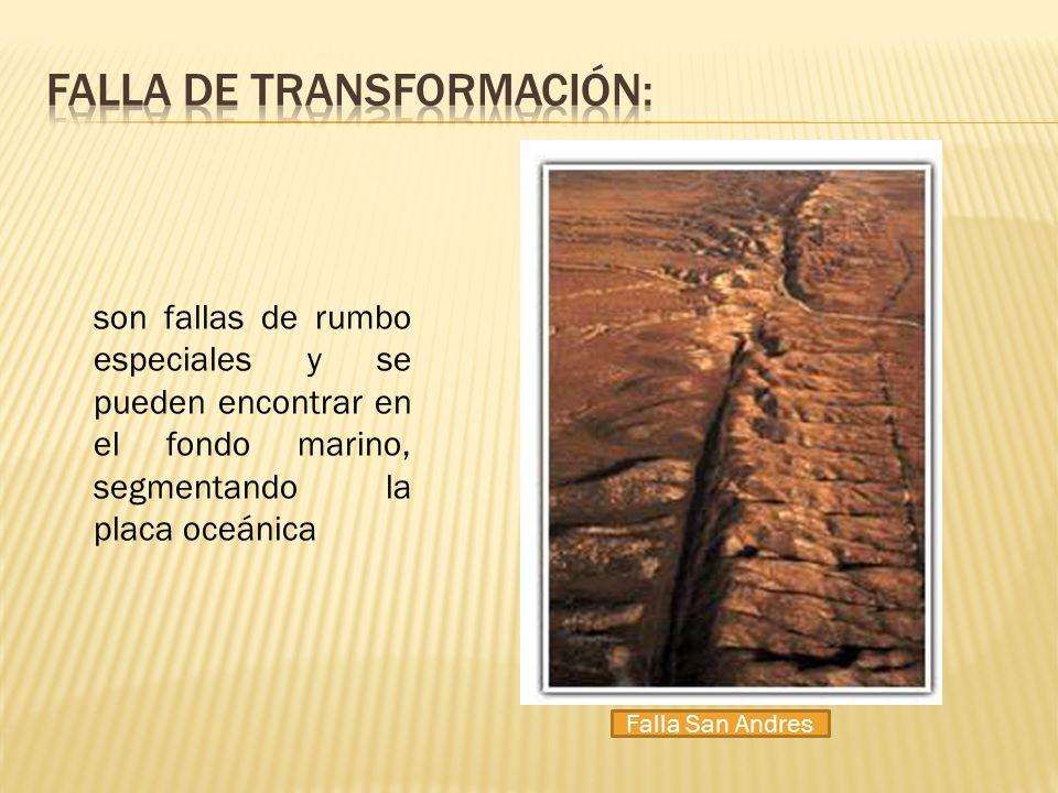 Falla de transformación: