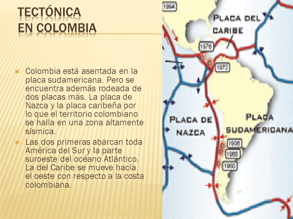 Tectónica en Colombia