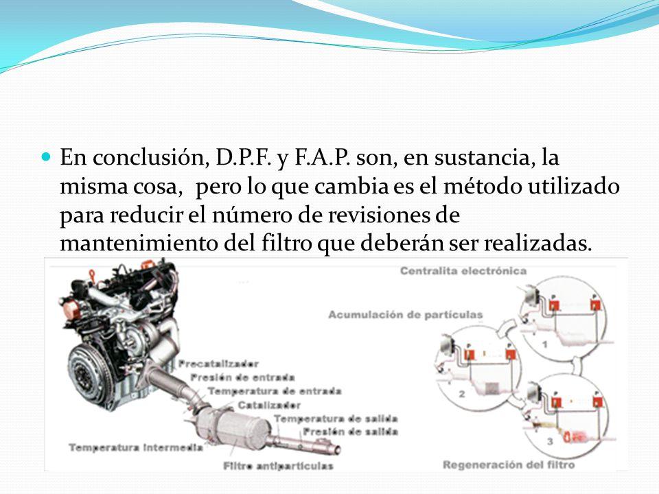 En conclusión, D.P.F. y F.A.P.