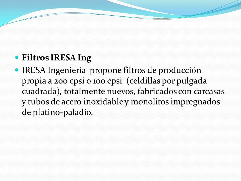 Filtros IRESA Ing